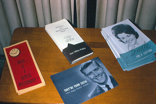 1970 patient education pamphlets